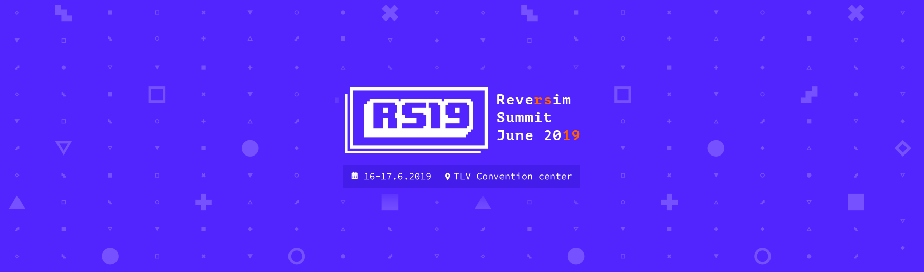 Reversim Summit 2019