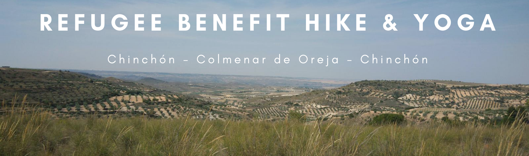 World Refugee Day Benefit Hike and Yoga Chinchón