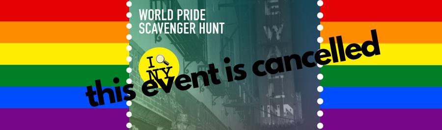 World Pride Scavenger Hunt