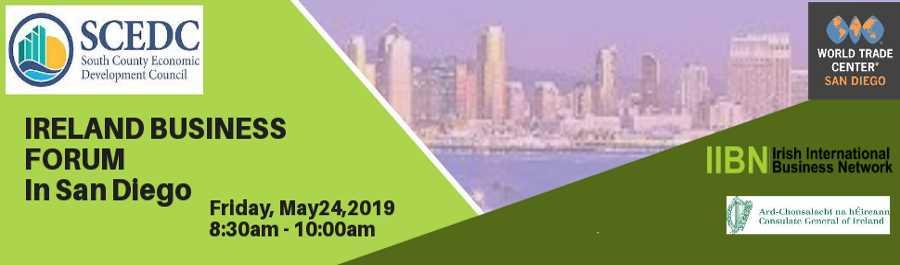 Ireland Business Forum in San Diego in association with IIBN