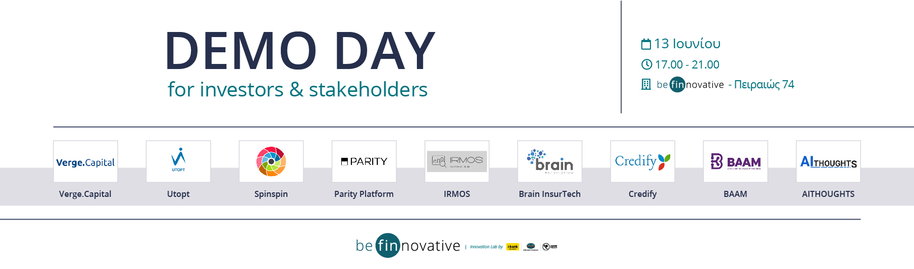 be finnovative 3.0 - Demo Day