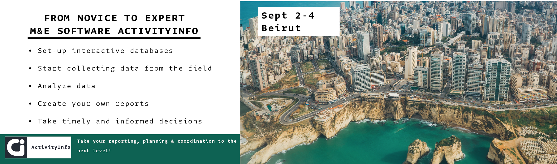 2nd-3rd-4th September 2019 - Beirut Training