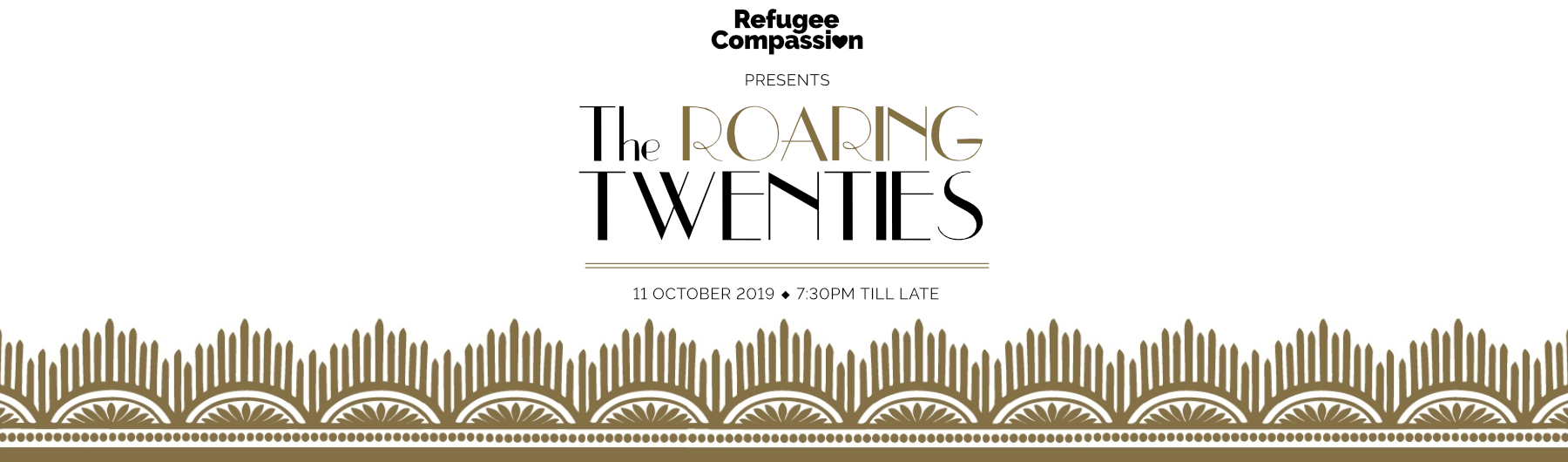 Refugee Compassion Ball 2019 'The Roaring Twenties'