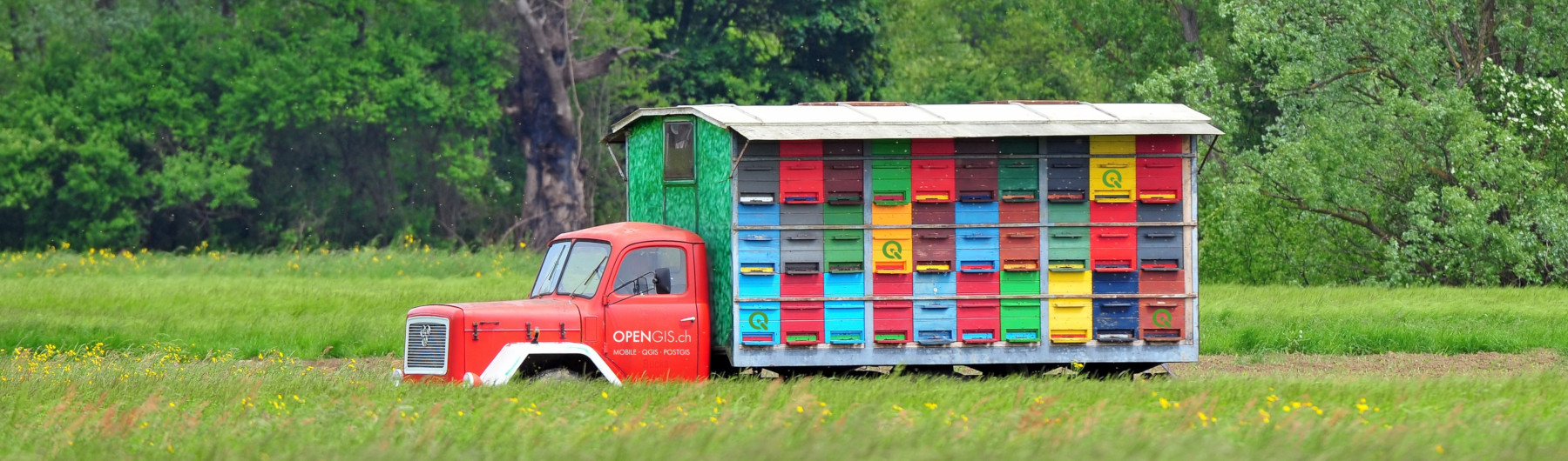 QGIS on the road Bern