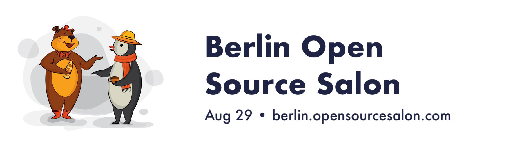 Berlin Open Source Salon 2019