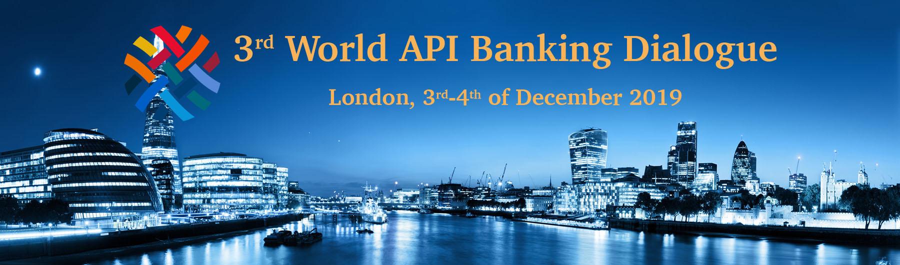 World API Banking Dialogue December 2019