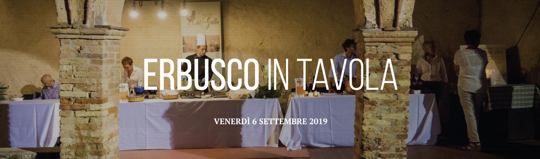 Erbusco in Tavola 2019