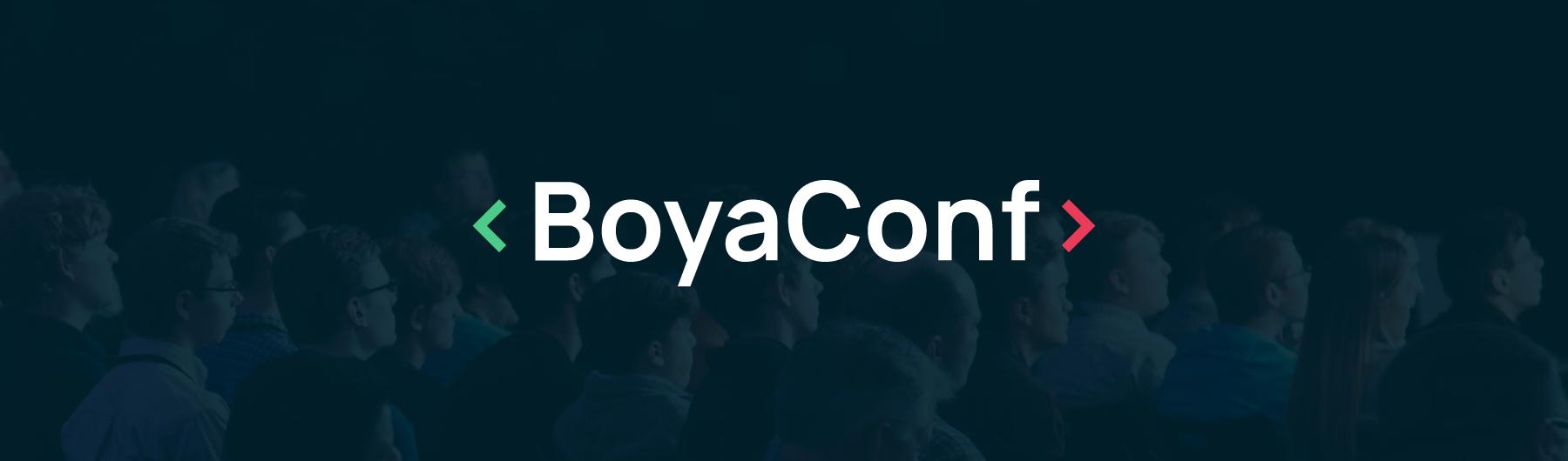 BoyaConf 2019