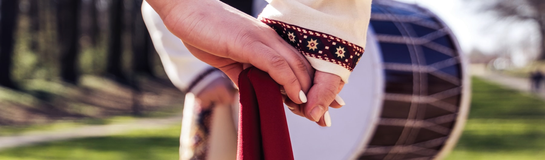 Armenian traditional dance show
