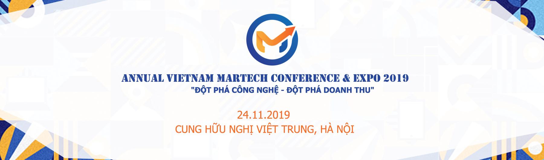 Vietnam MarTech Conference & Expo 2019
