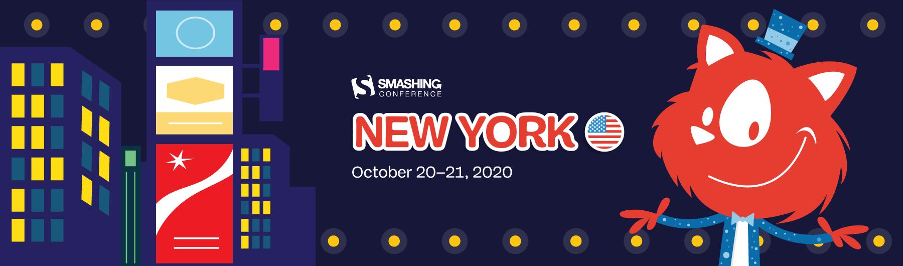 SmashingConf New York (October 19–22)