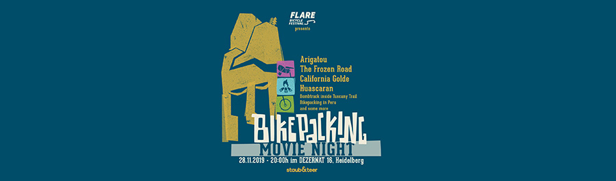 flare bikepacking movie night