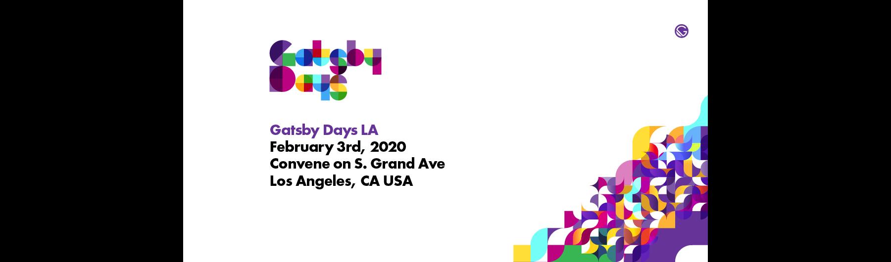 Gatsby Days Los Angeles - 2020