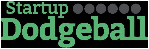 Startup dodgeball logo