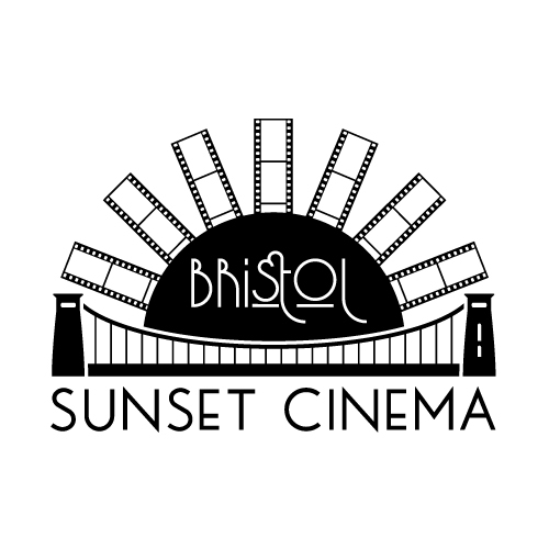 Sunset cinema logo avatar