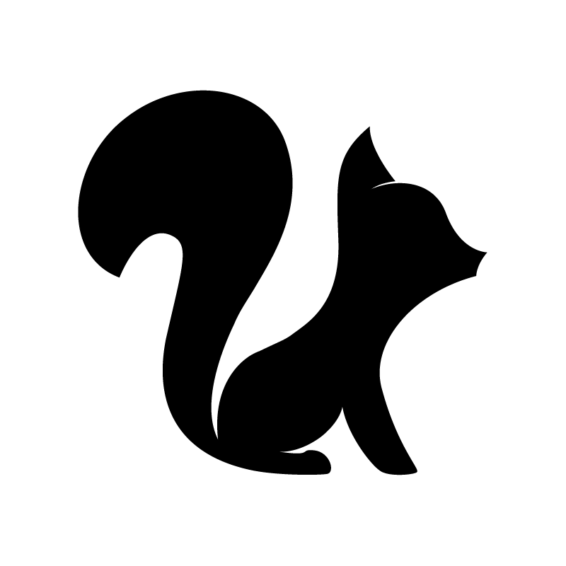 Logo mark black